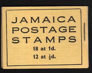 JAMAICA 1952 2/- COMPLETE BOOKLET SB13.