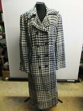 Damen Mantel lange Jacke Parka business kariert von babycat collection BC809