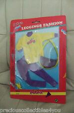 MIB MOC MOSC PETRA BARBIE PLASTY LEGGINS FASHION PURPLE YELLOW DRESS VINTAGE