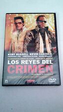 "DVD ""LOS REYES DEL CRIMEN"" PRECINTADA KURT RUSSELL KEVIN COSTNER COURTNEY COX"