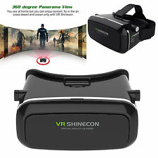 3D VR Virtual Reality Smart Glass Gears Headset for Samsung S7 iPhone 7 Plus 6S