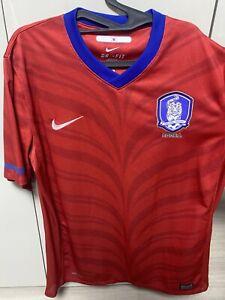 Nike Korea Soccer Jersey Tiger Stripe Sz XL