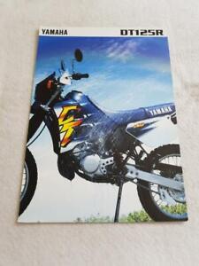 YAMAHA DT125R Motorcycle Sales Brochure 1996 #0107018-96E