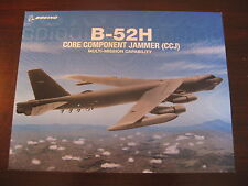 B-52 H Boeing Core Jammer CCJ Data Sheet / NEW