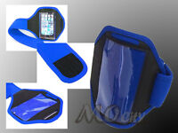 Outdoor Gym Running Sport Armband Case Cover for Apple iPhone 3/3GS/4/4S/5 BLUE