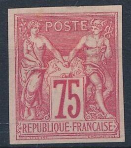 [7688] France Col 1877-79 good stamp very fine no gum value $110