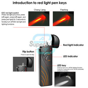 Visual Fault Locator 5/15/20/30Mw Red light Pen Fiber Optic Laser Cable Tester