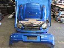 JDM Subaru Impreza WRX Sti Front END Bugeye NOSE CUT Conversion Headlights, Hood
