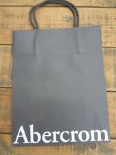 "Abercrombie & Fitch  Soft Card Small Carrier Bag 8"" x 10"" 20cm x 25cm"
