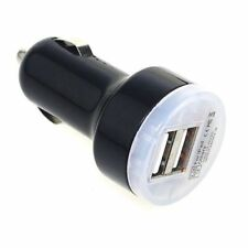 Car Cigarette Powered Dual 2 USB Adapter Charger for iPad2/3/4 iPhone 4S 5 5S 5C