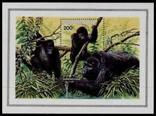 Rwanda 1212 MNH WWF, Gorillas