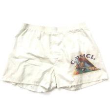 Vintage 1991 Camel billiard Cigarette men's boxer shorts casual size large 38 40