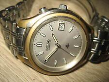 Seiko Herren Armbanduhr Uhr Kinetic 5M42 - OA10