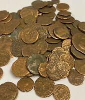 Authentic Ancient Bronze Roman Empire Coin (27-476 AD)