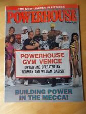 POWERHOUSE bodybuilding muscle magazine/NORMAN AND WILL DABISH Summer 1993