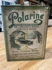 Early Polarine One Gallon Slim Oil Can