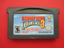 Donkey Kong Country 3 Not For Resale Game Boy Advance *Authentic & Saves*