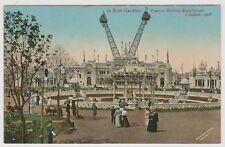 Franco British Exhibition, London 1908 postcard - In Elite Gardens