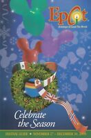 Disney Epcot Holidays Around the World Celebrate the Season Festival Guide -2009