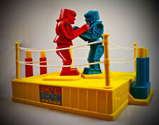 Rock'Em Sock'Em Robots no box comes w/ rare Blue BURGERKING Rockem sockem ROBOT