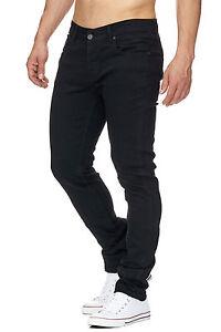 MADDU Herren Jeanshose Schwarz Black Clubwear Slim & Skinny Fit Jeans NEU 227