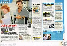 Coupure de presse Clipping 2011 (1 page 1/4) Julie Lescaut