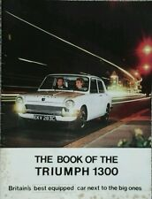 Triumph 1300  Sales Brochure - October 1965