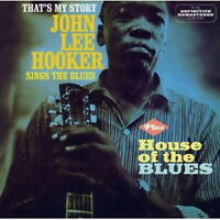 JOHN LEE HOOKER-THAT'S MY STORY + HOUSE OF THE...-IMPORT CD WITH JAPAN OBI D81