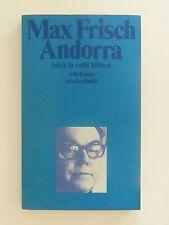 Max Frisch Andorra Stück in zwölf Bildern Suhrkamp Verlag