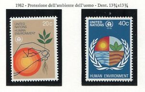 19165) UNITED NATIONS (New York) 1982 MNH** Environment