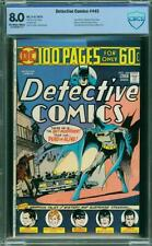 DETECTIVE COMICS 445 CBCS LIKE CGC 8.0 OWW PAGES 100 PAGES  A9