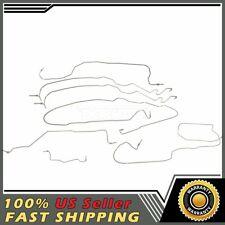 Brake Kit 01-07 Silverado//Sierra 2500HD 3500; Ext Cab /& Std Bed Stainless