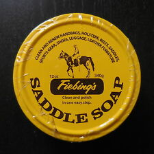 Fiebing'S Saddle Soap 12oz. Clean & Polish in one Easy Step. New