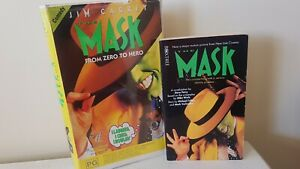 The Mask VHS, plus movie novel. Ex rental 1995 Clamshell.
