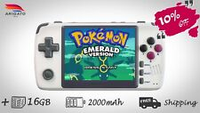 Newest Powkiddy Q80 Retro Video Game Handheld console GameBoy 16GB PS1 Emulator