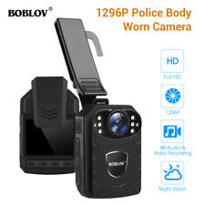Portable 1296P Body Mounted Camera Full HD With Audio For Police Security Guard*