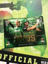 2017 Tap N Play ... BBL.. Big Bash DUOS... Kristen Beams & Kevin Pietersen..
