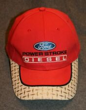 Ford Power Stroke Diesel Truck Cap - Red