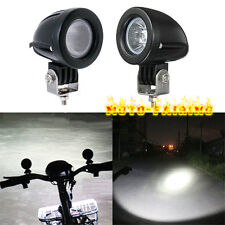 """2"""" 10W Cree LED Work Lights Flood Spot Driving Fog Offroad Lights Motorcycle 4X4"""