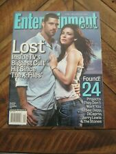 Entertainment Weekly #795 December 3, 2004 - Lost - Evangeline Lilly Zmg0