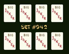 Mah Jongg Jong Mahjong Joker Stickers - Set #942 ** Free Shipping **