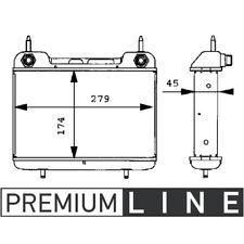 MAHLE Ölkühler für MB (W124) **PREMIUM LINE**