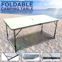 Aluminum Roll Up Table Portable Folding In/Outdoor Picnic Party Garden Camping