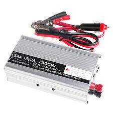 New 3000W Peak DC12V to AC 230V Solar Power Inverter Converter USB Output Stable