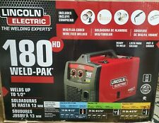 Brand New Lincoln Electric Weld- Pak 180Hd Wire Feed Welder