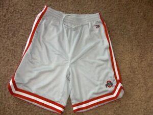 OHIO STATE BUCKEYES sewn athletic basketball shorts men's Medium