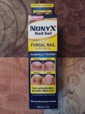 NONYX NAIL GEL Fungal Nail Clarifying Treatment 4oz 6mo supply