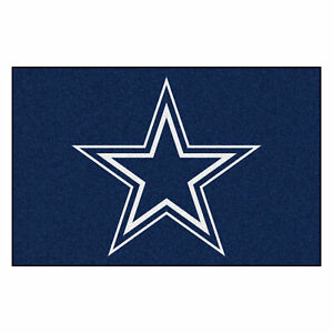 "Fanmats NFL Dallas Cowboys Rookie Mat Area Rug Bath Mat 20""x 30"""