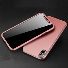 Shockproof Full Body 360°Protective Hard Slim Case Cover For Apple iPhone 10 X