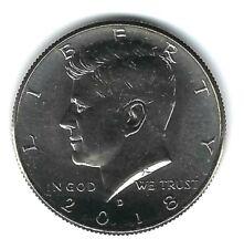 2018-D Denver  Kennedy Brilliant Uncirculated Half Dollar Coin!